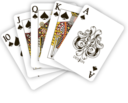 3 poker cards png
